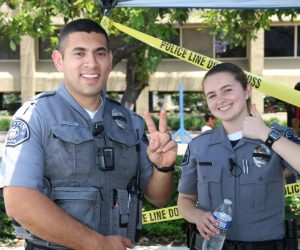 2019 TPD CSI Police Services Officers at Open House event