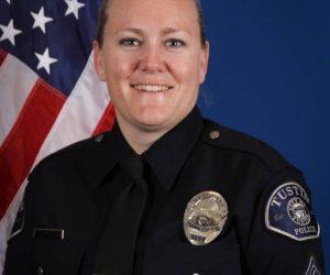 Community Resources Unit Sergeant Sarah Fetterling