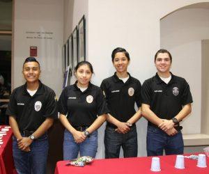 Explorers working 2019 Santa Cop event