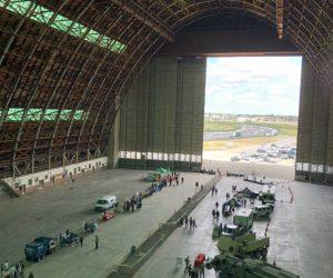 2019 Disaster Preparedness Expo inside the Tustin Hangar